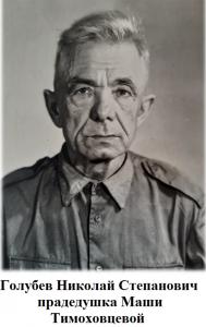 Голубев Николай Степанович