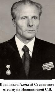 ИВАННИКОВ Алексей Степанович
